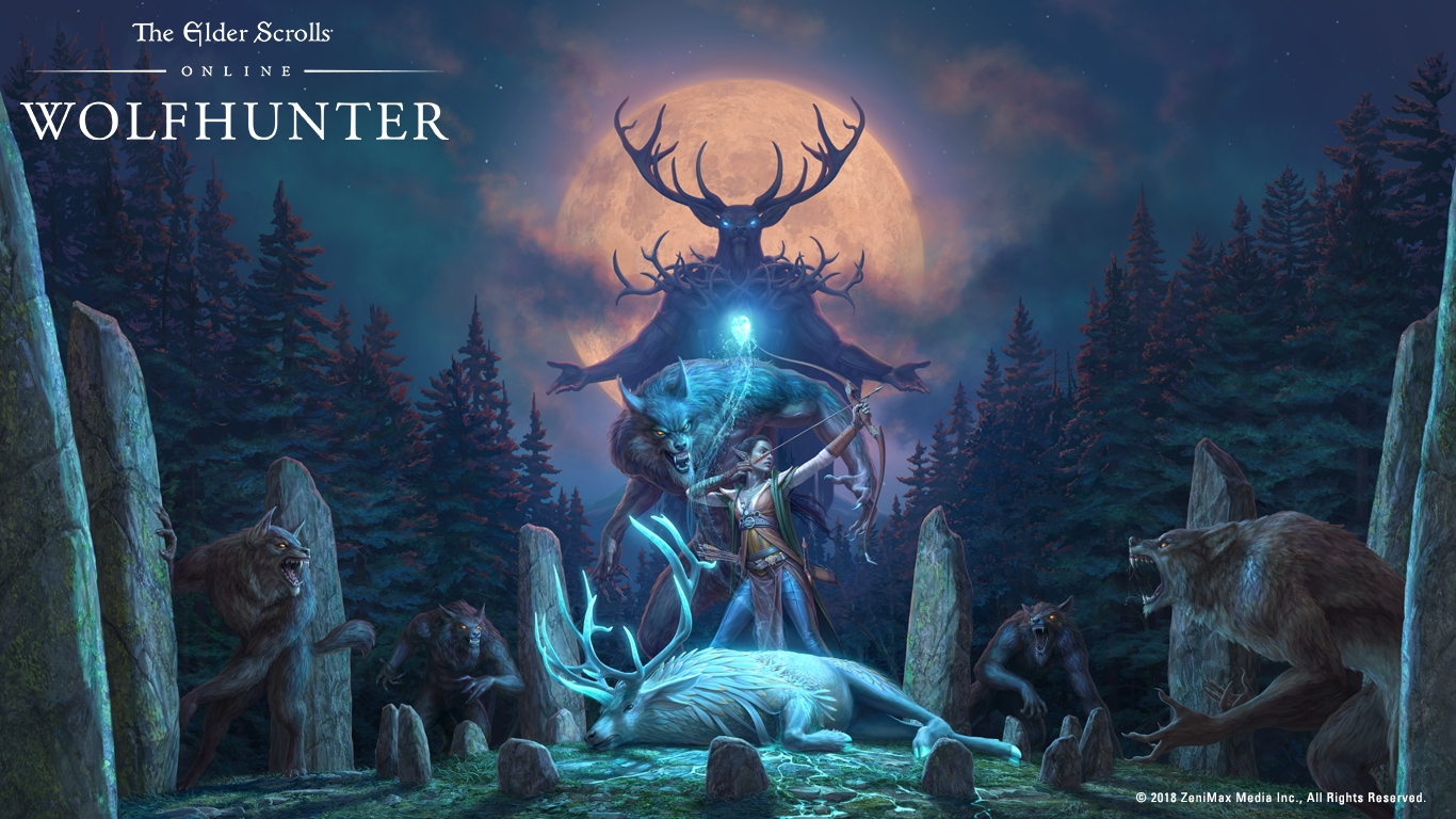 Can We Please Have 3840x2160 Res For The New Wolfhunter Wallpaper