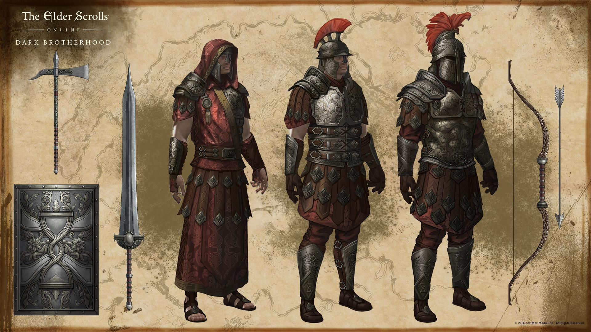 Mercenary Crafting Style Eso