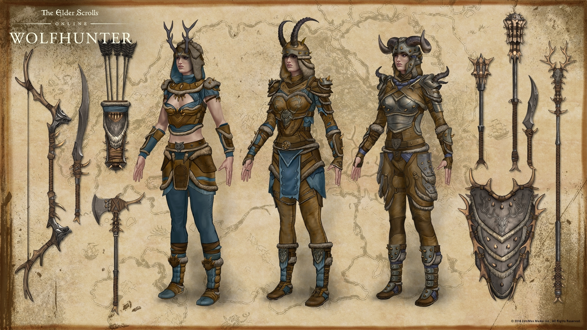 Concept Arts The Elder Scrolls Online
