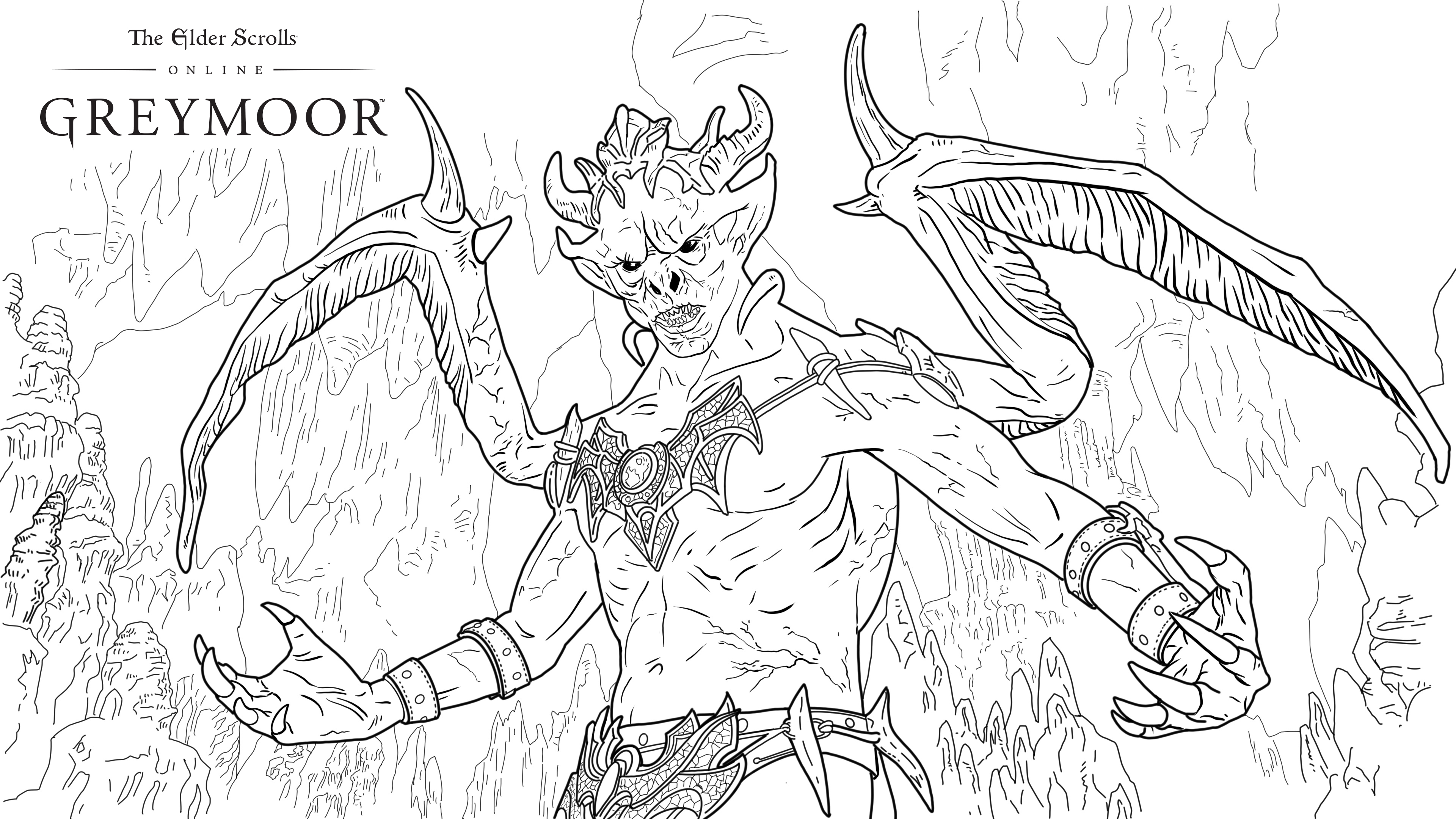Get Creative at Home with these Greymoor Coloring Pages - The ...   2160x3840