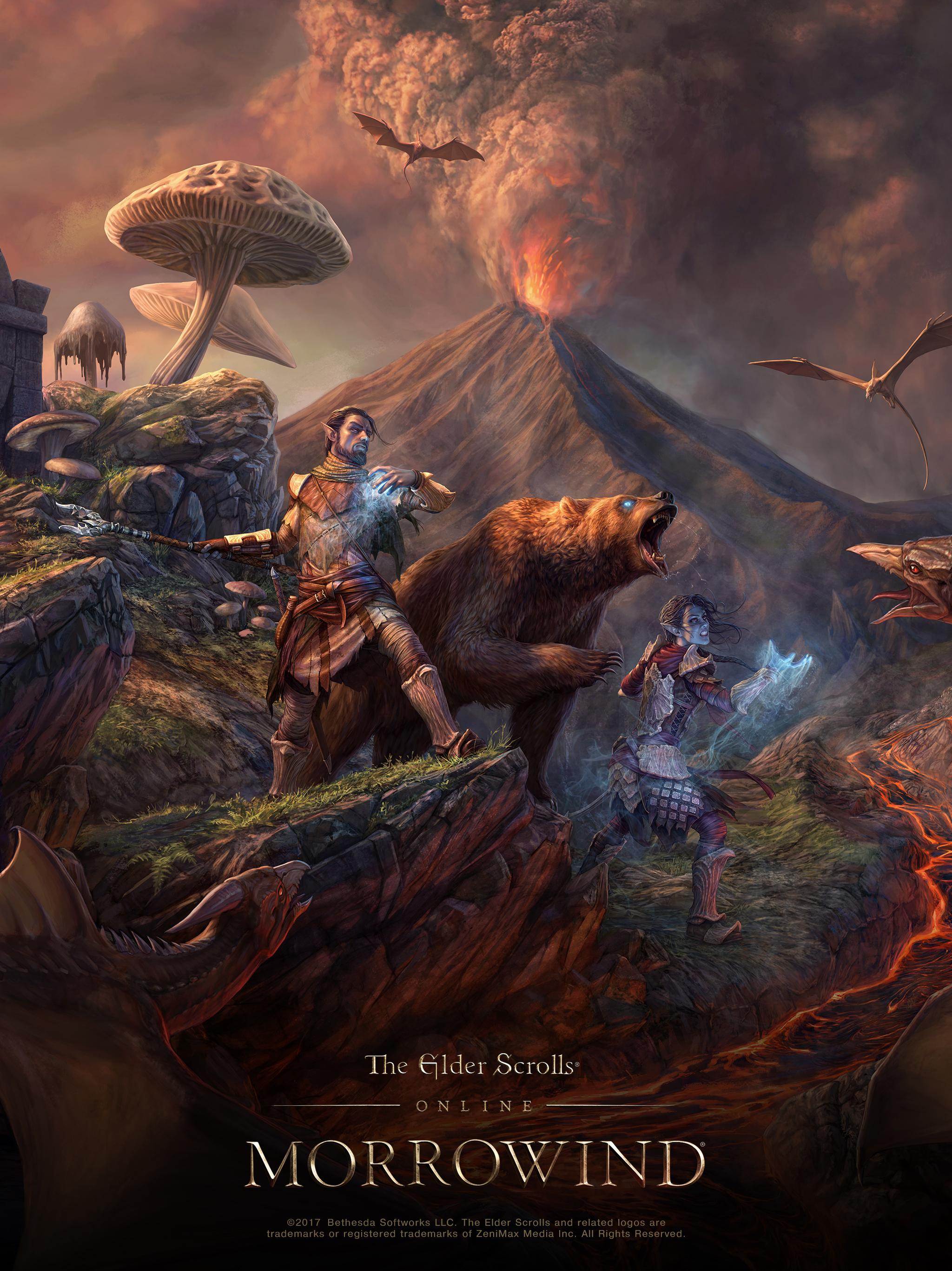 Eso Morrowind Concept Artist Q A And Wallpaper The Elder